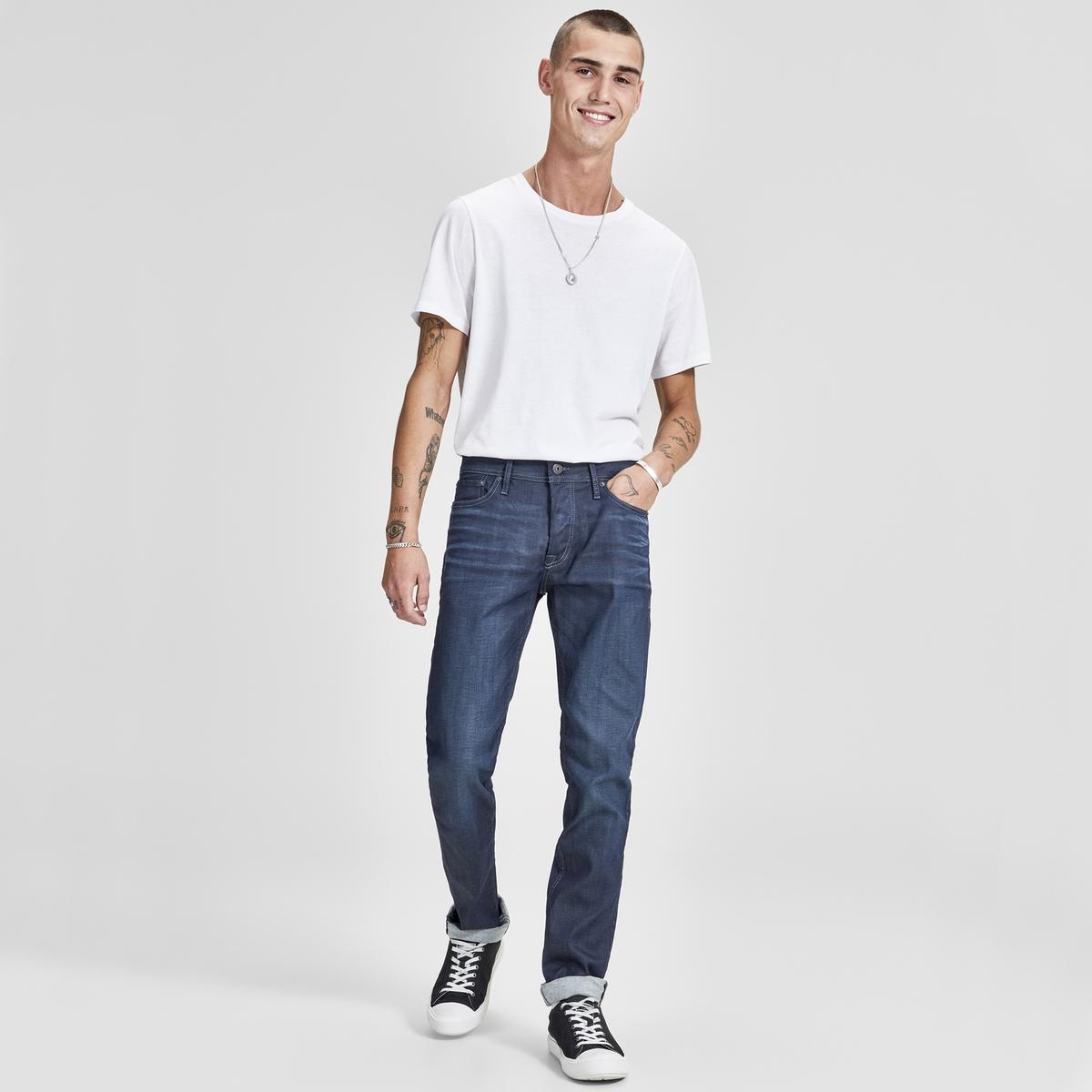 Джинсы слим стрейч Tim Con джинсы слим с тропическим рисунком 3 14 лет