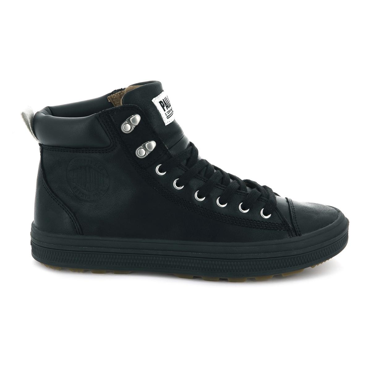 Кеды высокие кожаные Sub Mid Cuff ботинки высокие palladium pampa sport cuff wp amber gold mid gum