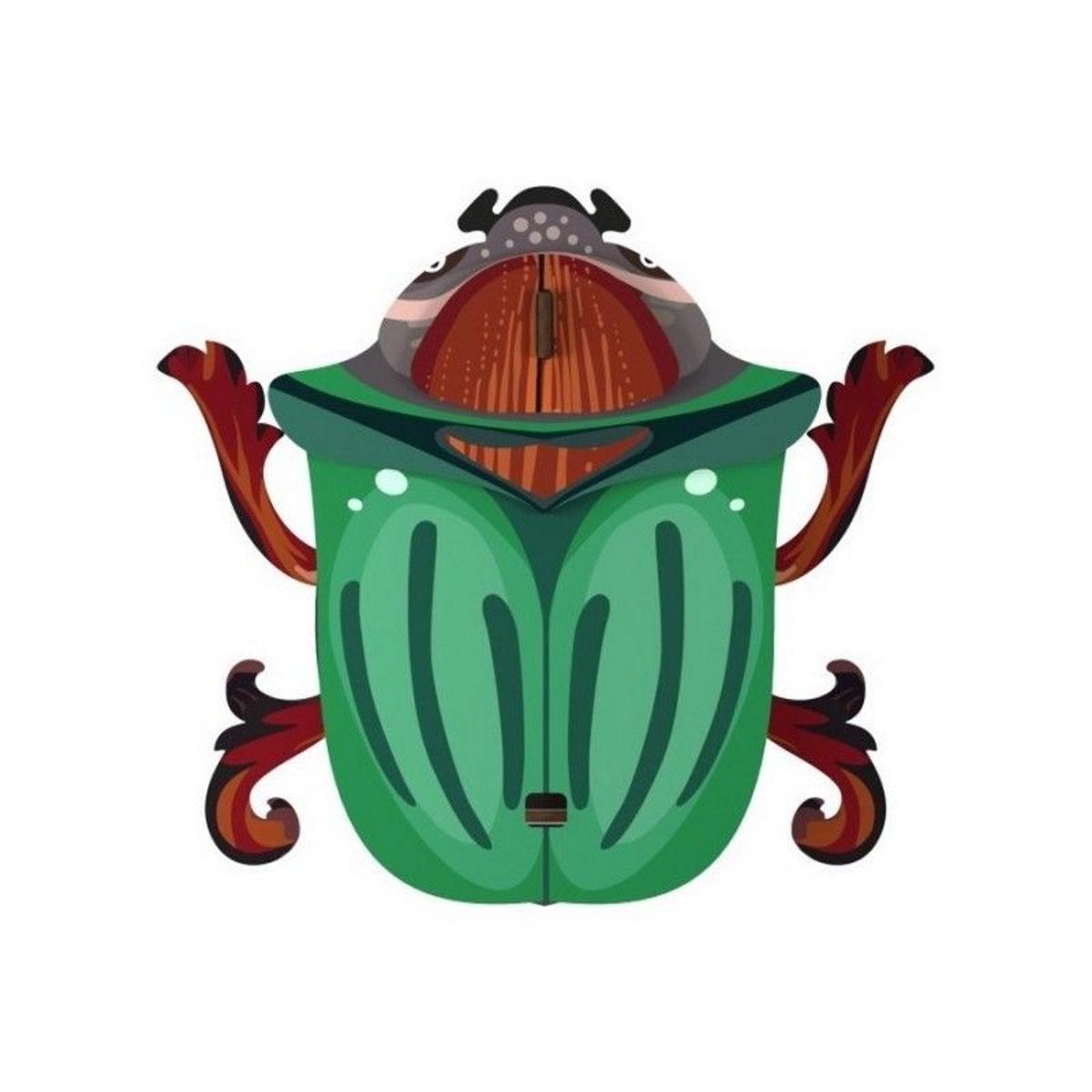 scarabée décoration murale Ringo