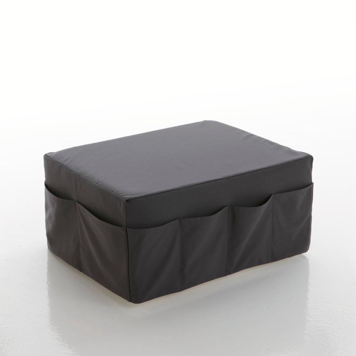 Банкетка-пуф со съемным чехлом, большая,  MeetingМягкая банкетка-пуф со съемным чехлом Meeting, комфортный материал Bultex, большая. Банкетка-пуф со съемным чехлом и многочисленными карманами просто незаменима для тех, кто стремится к комфорту, красоте и практичности. Эта банкетка-пуф может выполнять функции сидения, низкого столика и дополнительного спального места! Можно объединять и сочетать банкетки в 7 цветовых гаммах! Производство: Франция.       Описание банкетки-пуфа Meeting:В гостиной можно использовать как сиденье и как маленький стол.В спальне можно разложить 3 блока из пеноматериала, и пуф превратится в небольшую удобную кровать.12 карманов. Характеристики банкетки-пуфа Meeting:Чехол из 100% хлопка с тефлоновым покрытием против пятен.Качество сиденья:Материал Bultex дарит мягкость и длительное чувство комфорта (плотность 37 кг/м?).Найдите другие модели из коллекции Meeting на нашем сайте laredoute.ru.Размеры банкетки-пуфа Meeting:Общие:Ширина: 80 см.Высота: 36 смГлубина: 63 см.В разложенном виде: Ширина 80 x длина 189 x толщина 12 см. Клиентская служба Ла Редут:Срок службы деталей 1 год.<br><br>Цвет: красный,серо-коричневый каштан,темно-фиолетовый,фисташковый,шоколадно-каштановый,экрю