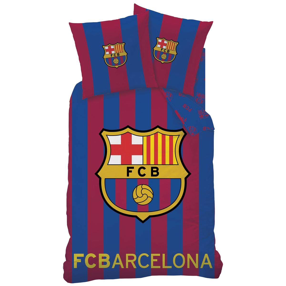 Белье постельное из 100% хлопка FC Barcelone