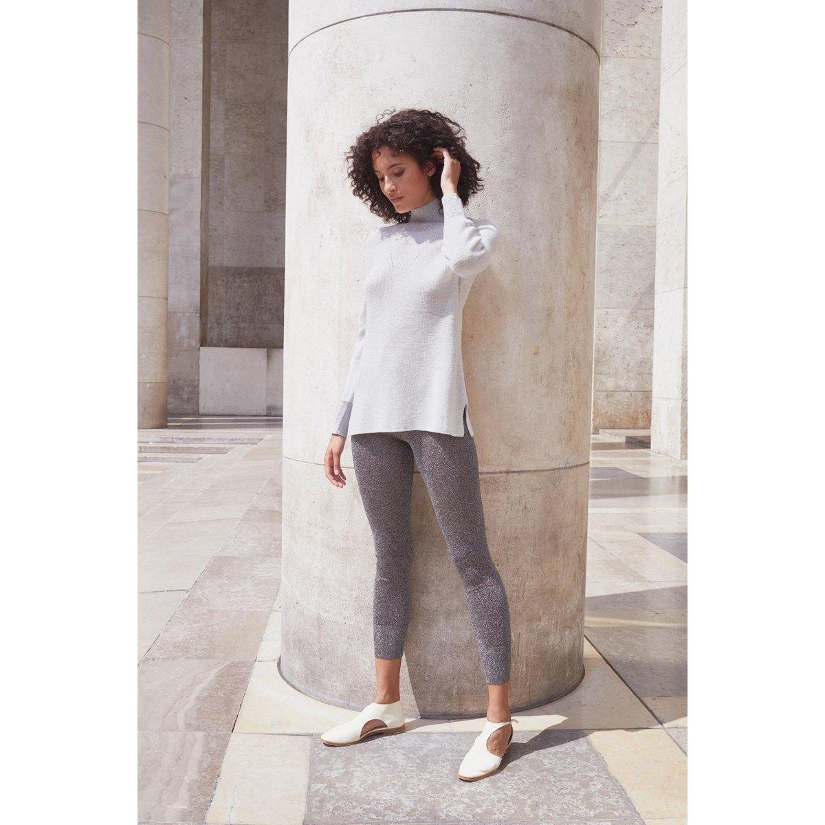 Tunique en laine Merinos et maille Fil textile® St Germain