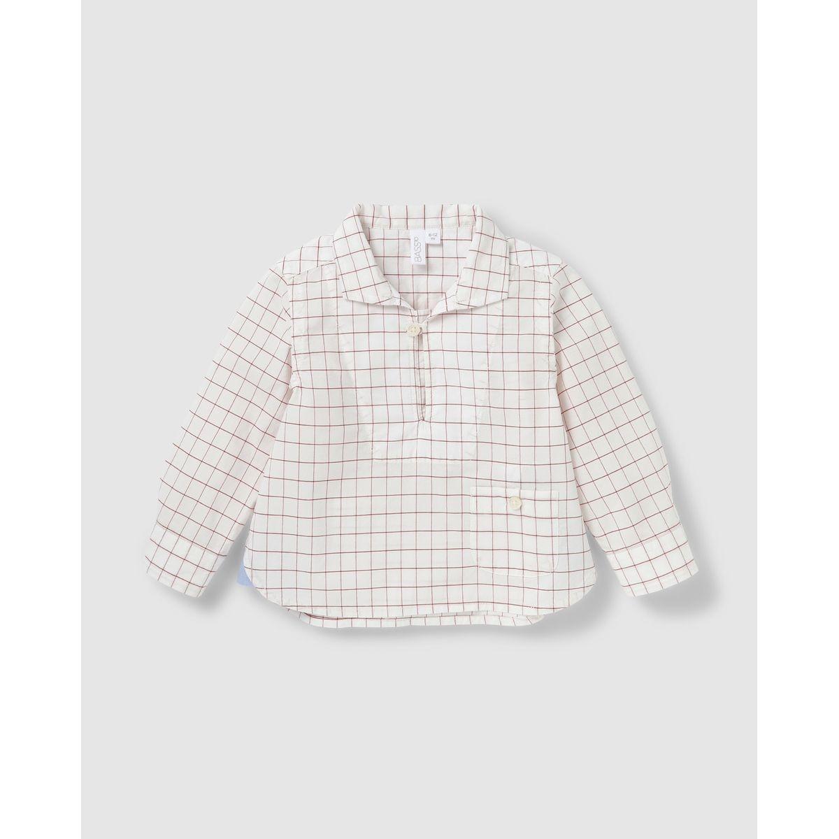 Chemise  à carreaux fenêtre