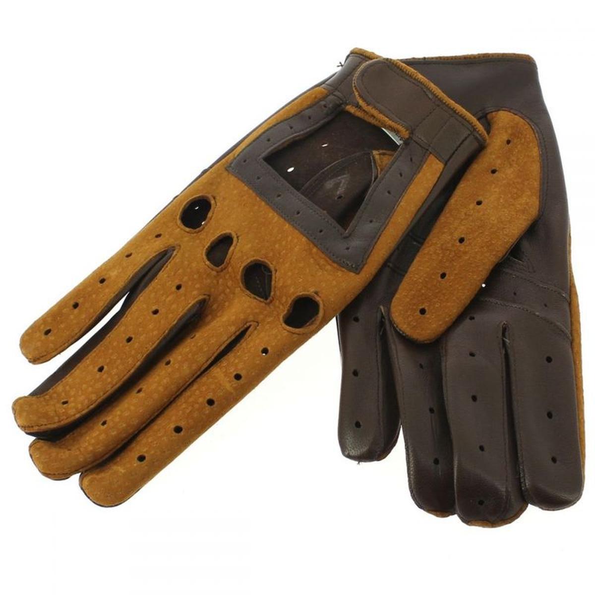 Gant cuir carpincho Luxe, agneau-carpincho, fait main en Italie