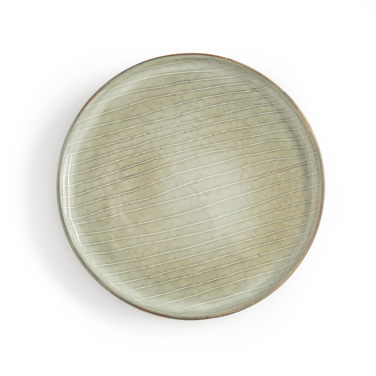 4 тарелки десертные из керамики Shima