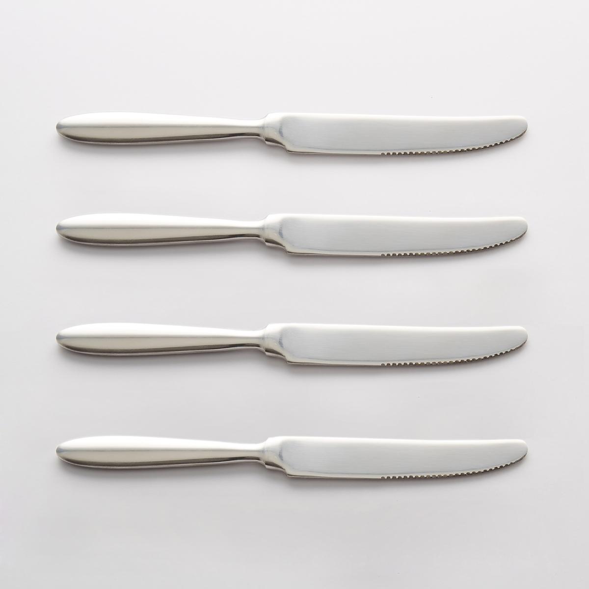 Confezione da 4 coltelli inox, RAKINEN