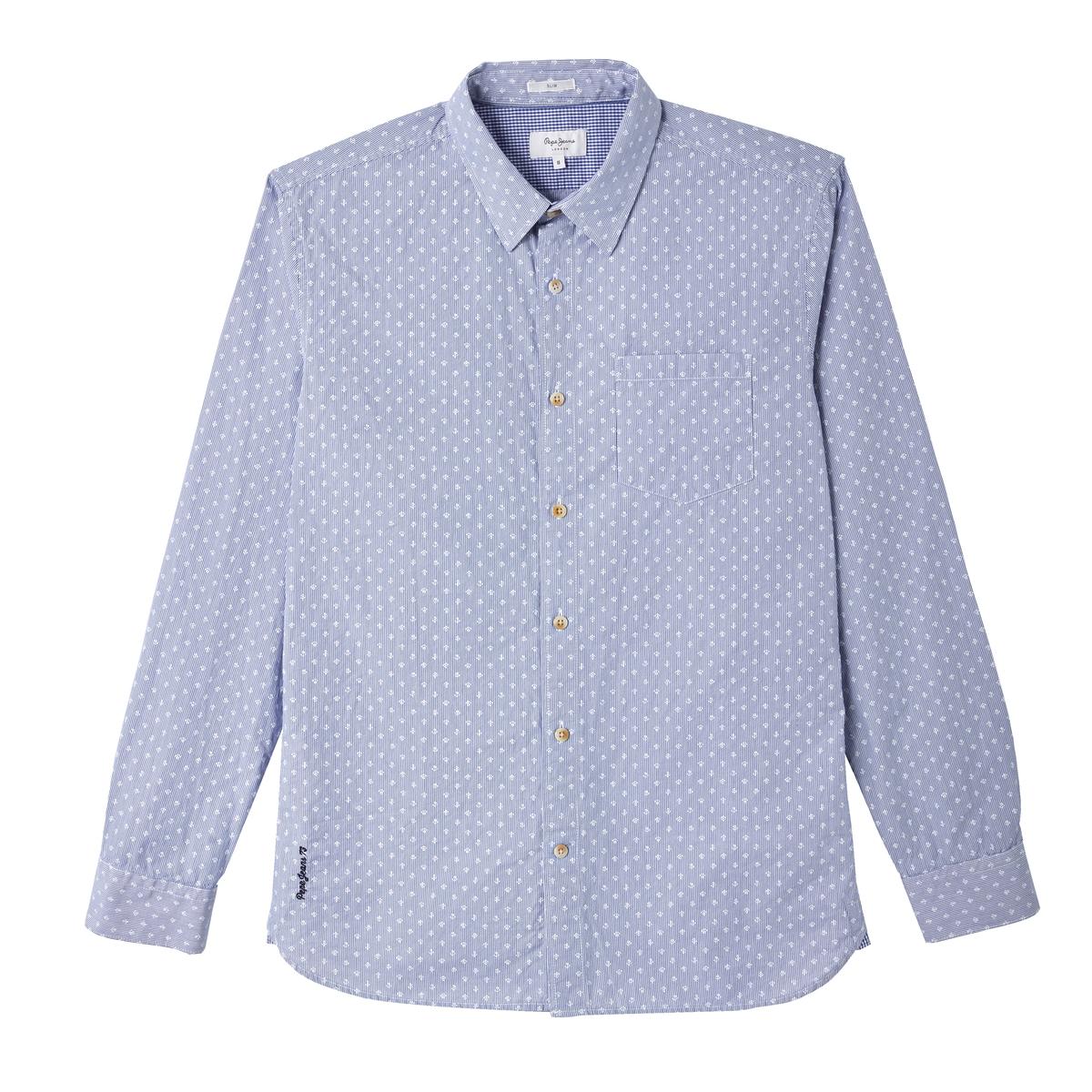 Camisa regular con estampado Gregor