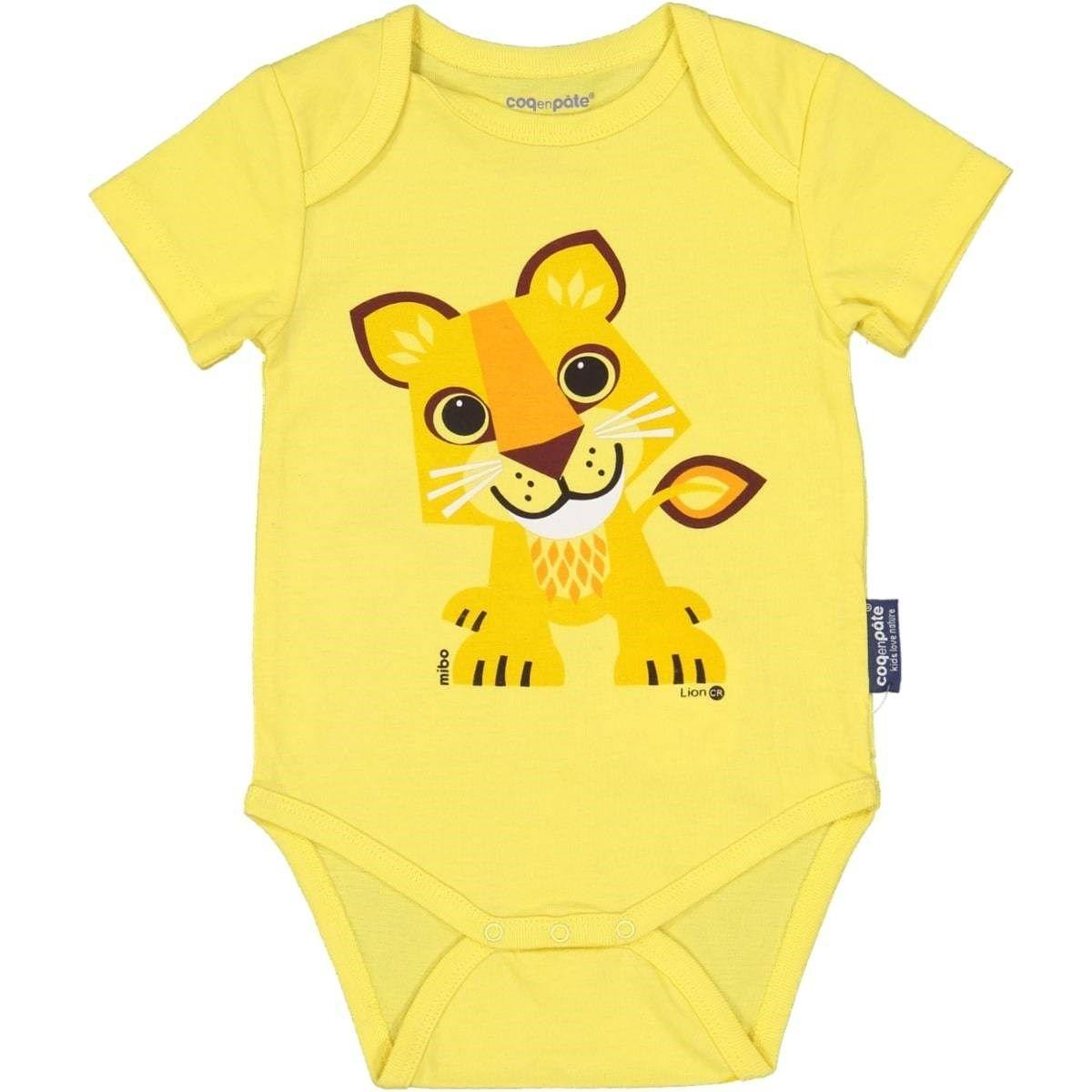 Body en coton bio Lion