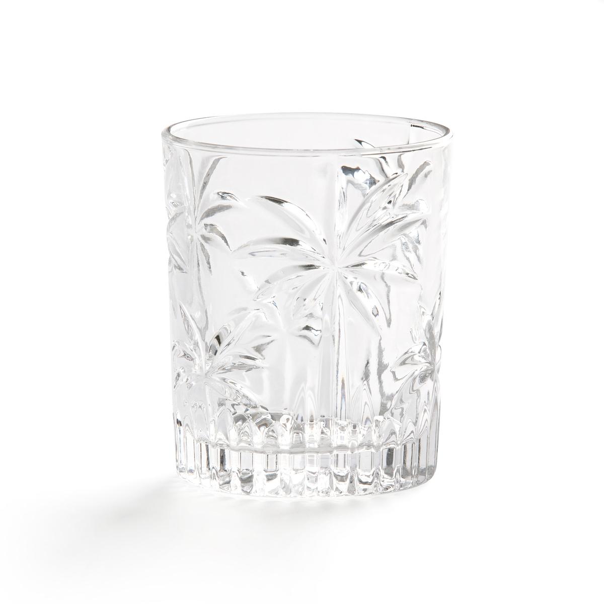 Комплект из 4 резных стаканов LaRedoute PALEM единый размер другие набор laredoute из 6 стаканов troquet единый размер другие