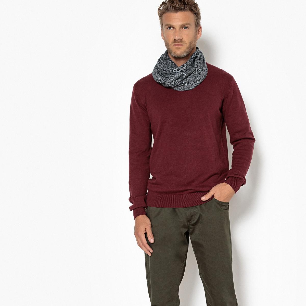 Пуловер PIERRE с круглым вырезом 100% хлопок от La Redoute Collections