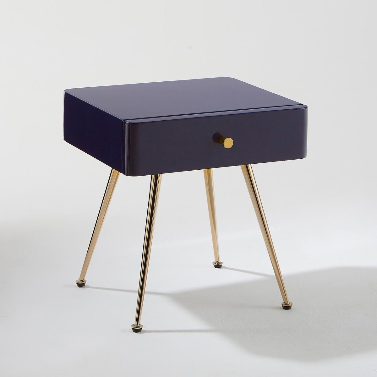 Тумба La Redoute С ящиком Topim единый размер фиолетовый цена 2017
