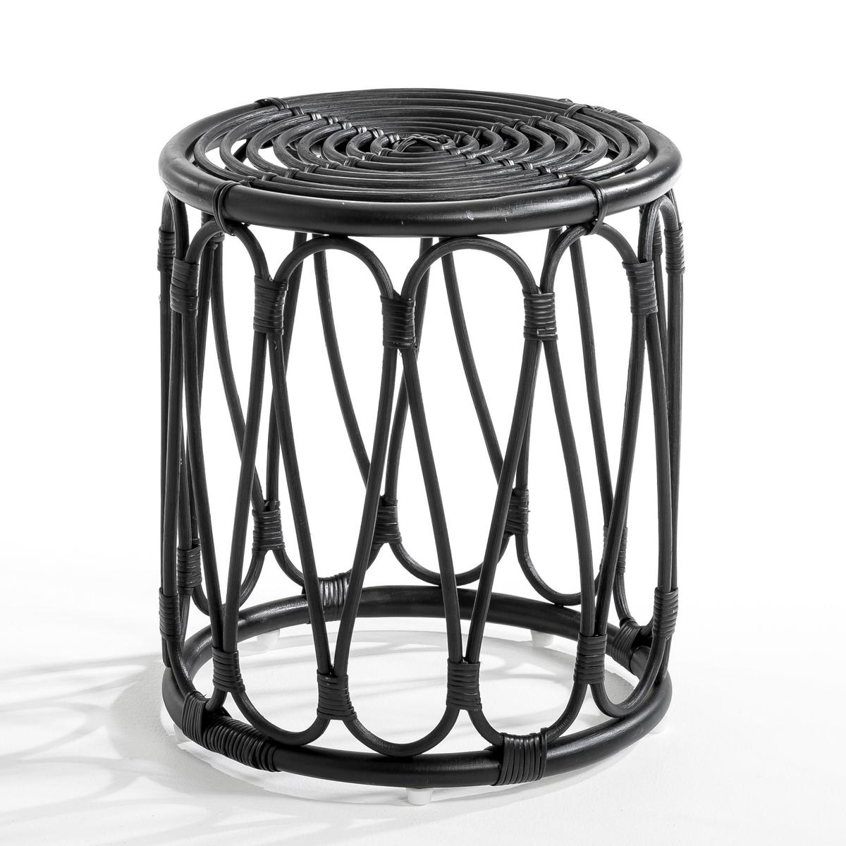 Столик диванный MevenСтолик диванный из ротанга. Диаметр 37 см .Высота 42 см.<br><br>Цвет: черный<br>Размер: единый размер