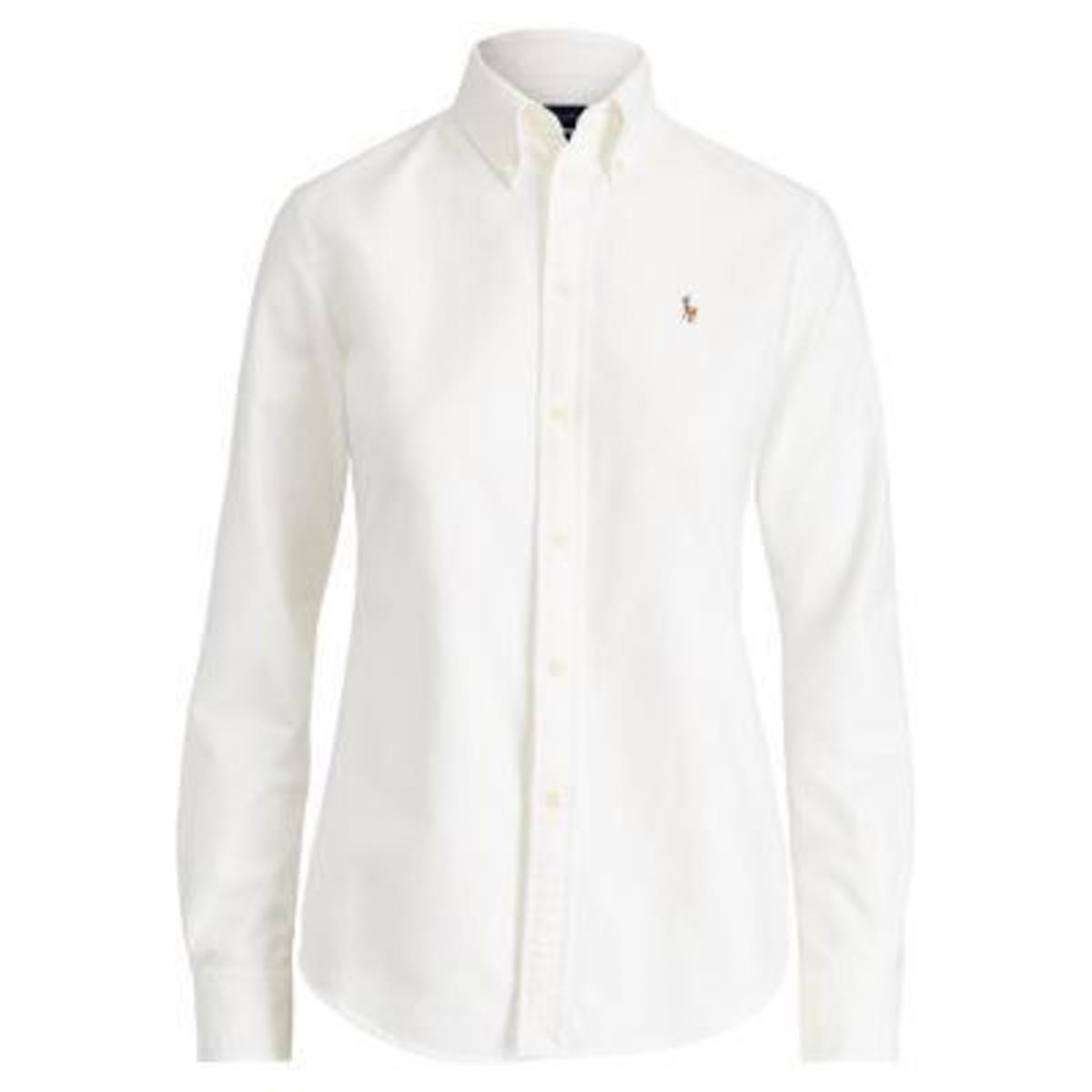 купить Рубашка La Redoute Классическая с длинными рукавами XS белый по цене 9099 рублей