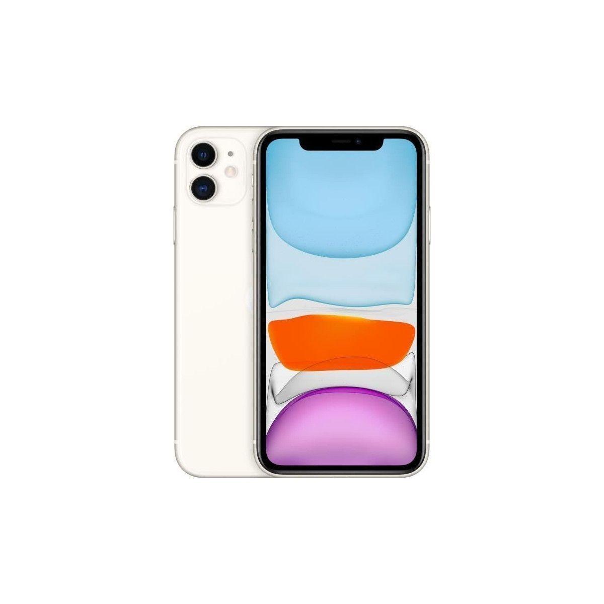 Smartphone iPhone 11 Blanc 64 Go