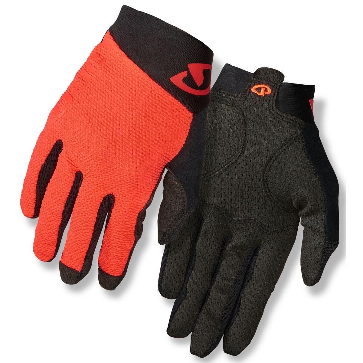 Rivet II - Gants Homme - orange/noir