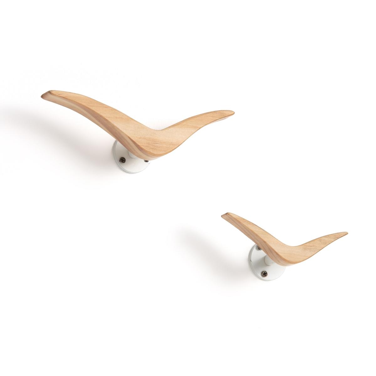 Комплект из 2 вешалок  форме птиц