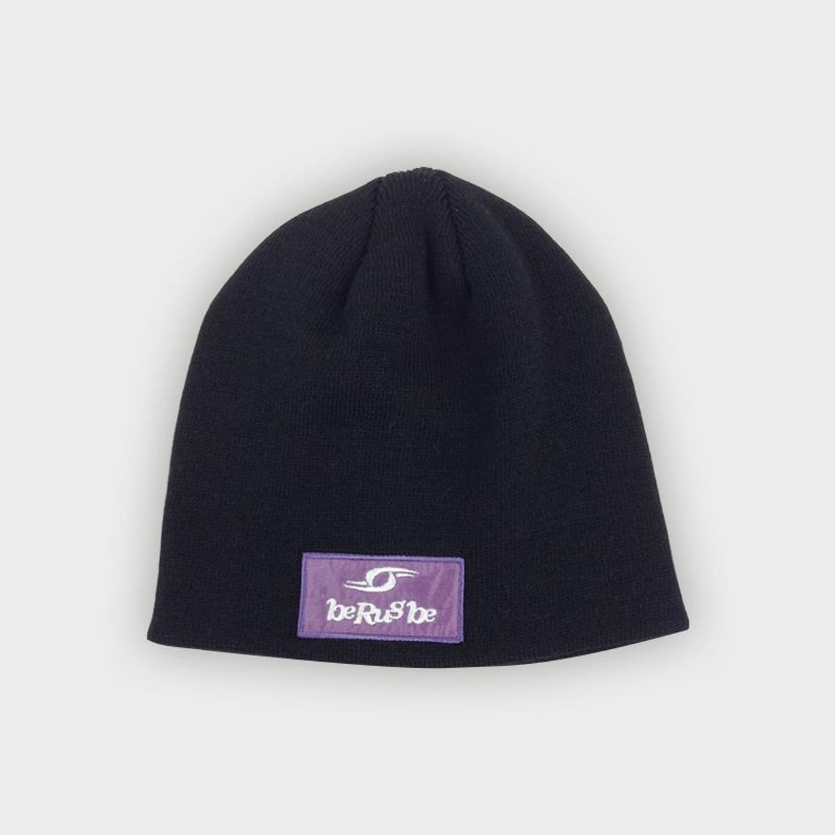 Bonnet Basic - Berugbe - Noir - U