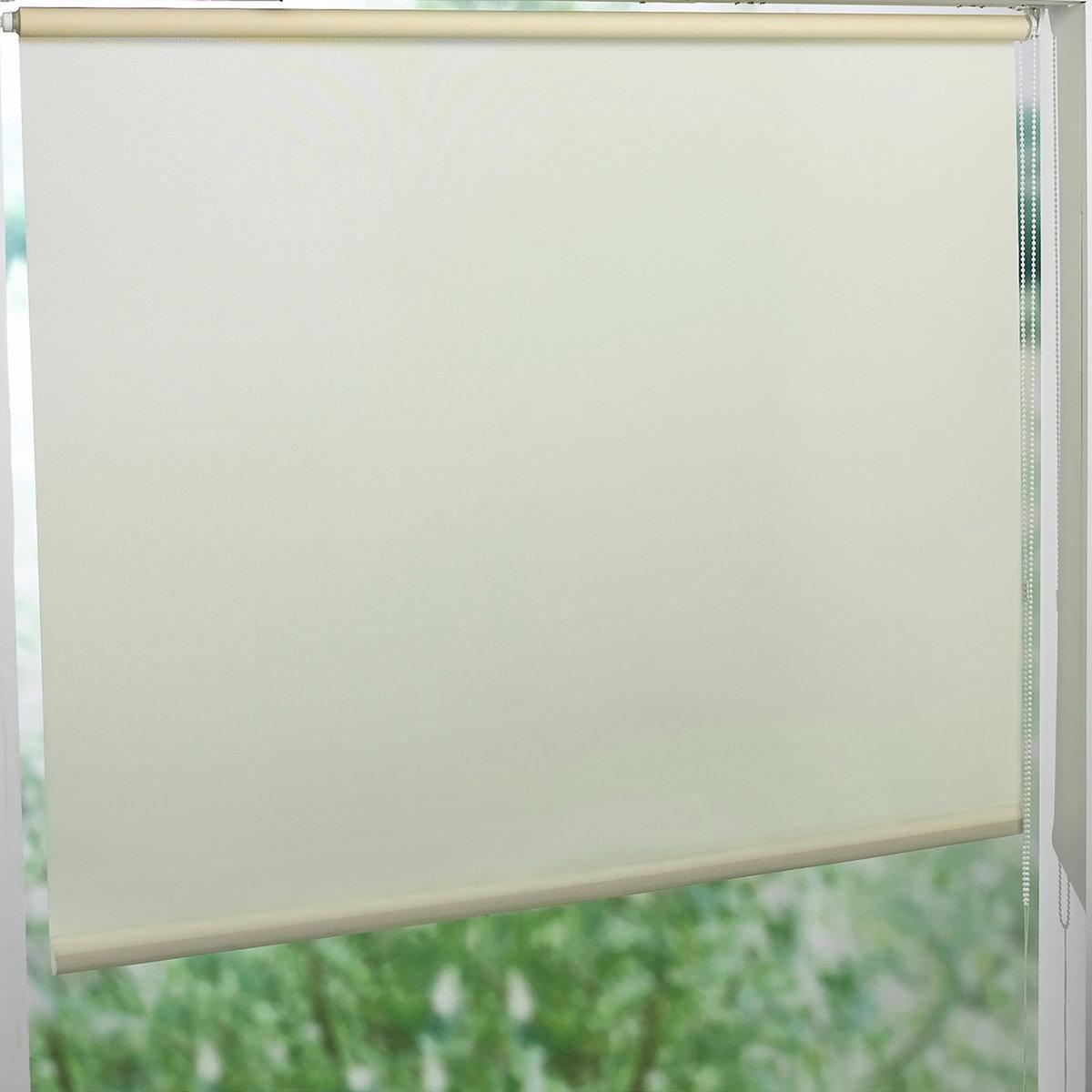 Штора рулонная, пропускающая свет, широкаяХарактеристики рулонной шторы :     - Пропускающую свет рулонную штору EASY легко установить на окна любого типа шириной 52-107 см.     - Губчатая ткань, 100% полиэстер, тяжелая рейка внизу.- Длина регулируется механизмом с цепочкой.- Можно отрезать по ширине.- Можно закрепить классическим способом, просверлив отверстия, или установить, используя новую систему фиксации :     - новая система фиксации клипсами для окон из ПВХ (в комплекте).     - специальный набор крепления EASY для окон из дерева и алюминия (продается отдельно).          VALEUR S?RE - качественные изделия с красивой отделкой.<br><br>Цвет: бежевый песочный,светло-серый,серо-бежевый,серо-коричневый каштан,серо-коричневый,серый,синий морской