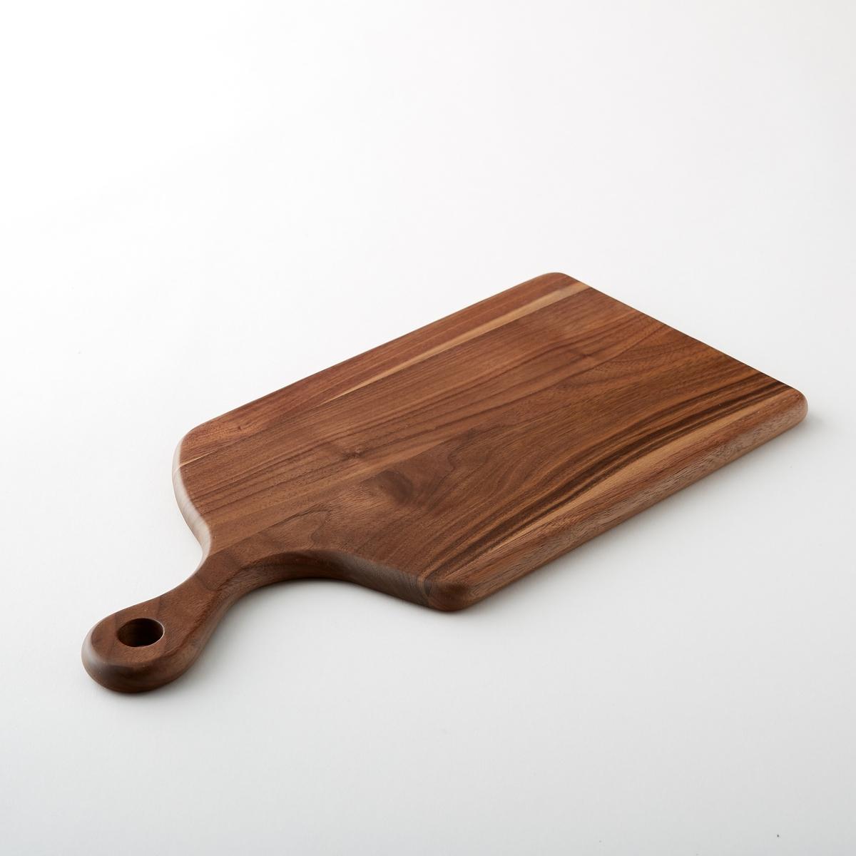 Доска разделочная из орехового дерева, большая модель, MoodwaРазделочная доска Moodwa. Элегантная и долговечная доска из массива ореха. Моется вручную, не оставлять в воде. Размеры : Ш.40,6 x В.1,5 x Г.20,1 см.<br><br>Цвет: дерево орех<br>Размер: единый размер