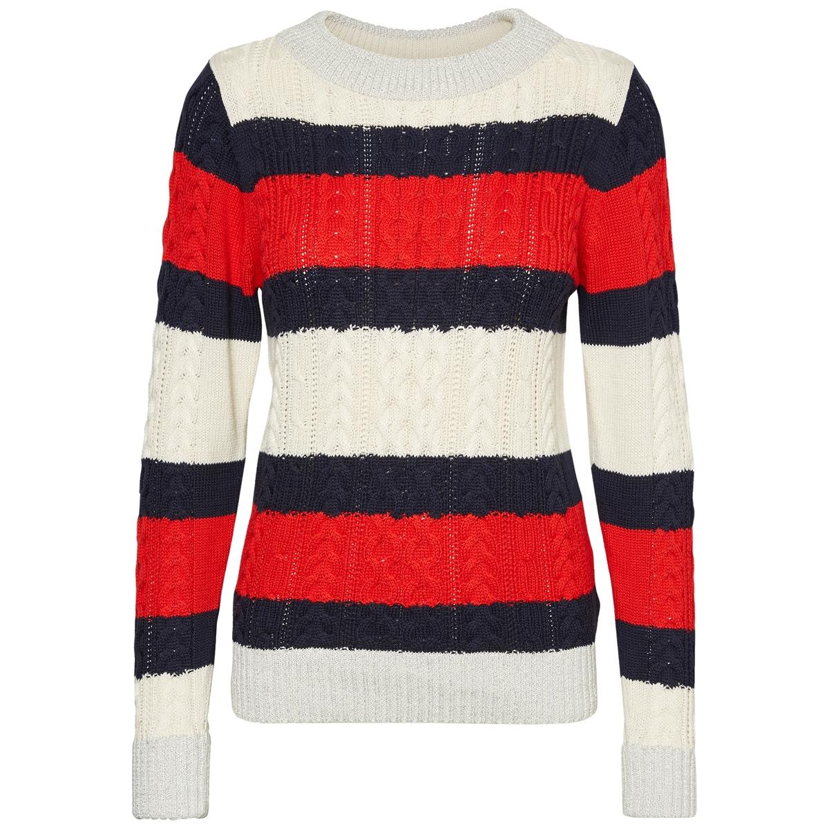 Пуловер из плотного трикотажа с воротником-стойкой VERO MODA