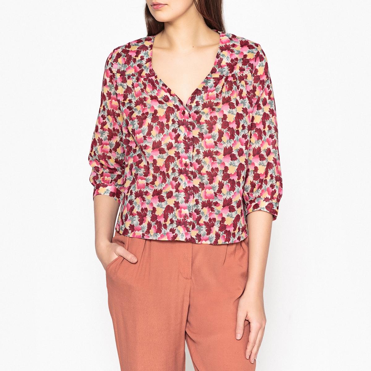 Рубашка на пуговицах с принтом - LIDIA шорты harris wilson harris wilson ha019emqpi42