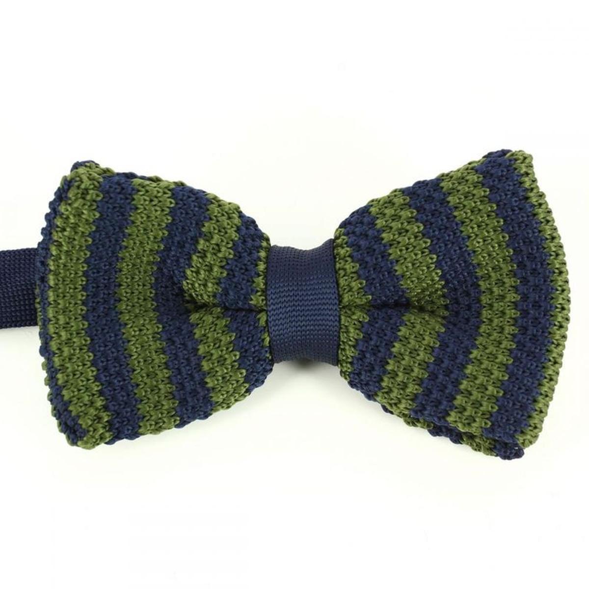 Noeud papillon tricot coton duke
