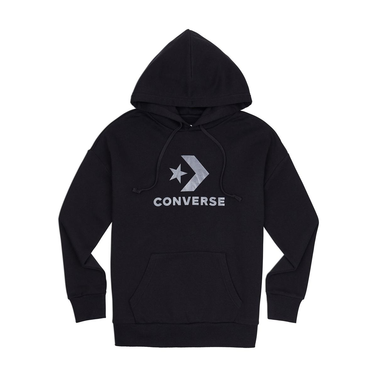 Imagen principal de producto de Sudadera con capucha y estampado delante - Converse