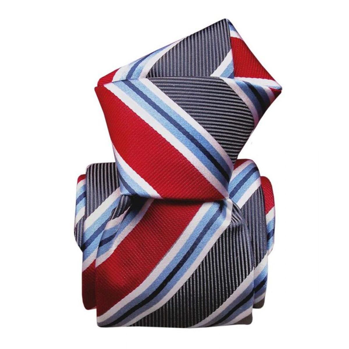 Cravate luxe soie castellazo