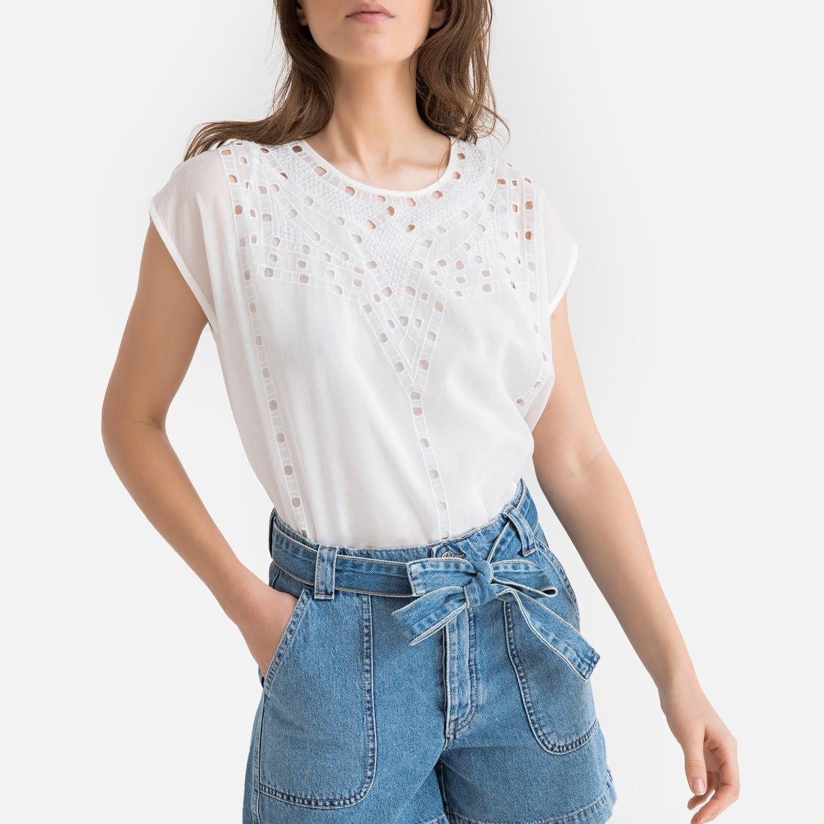 Blusa de manga corta Tanya