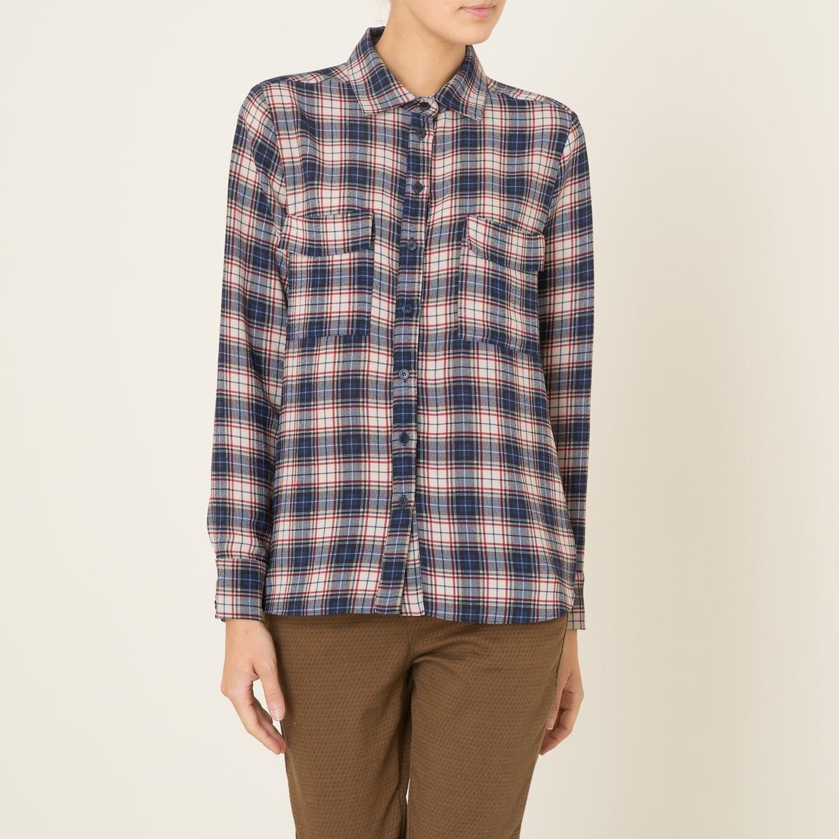 Рубашка ALAMBRAСостав и описаниеМатериал : 98% полиэстера, 2% эластана  Марка : TOUPY<br><br>Цвет: синий