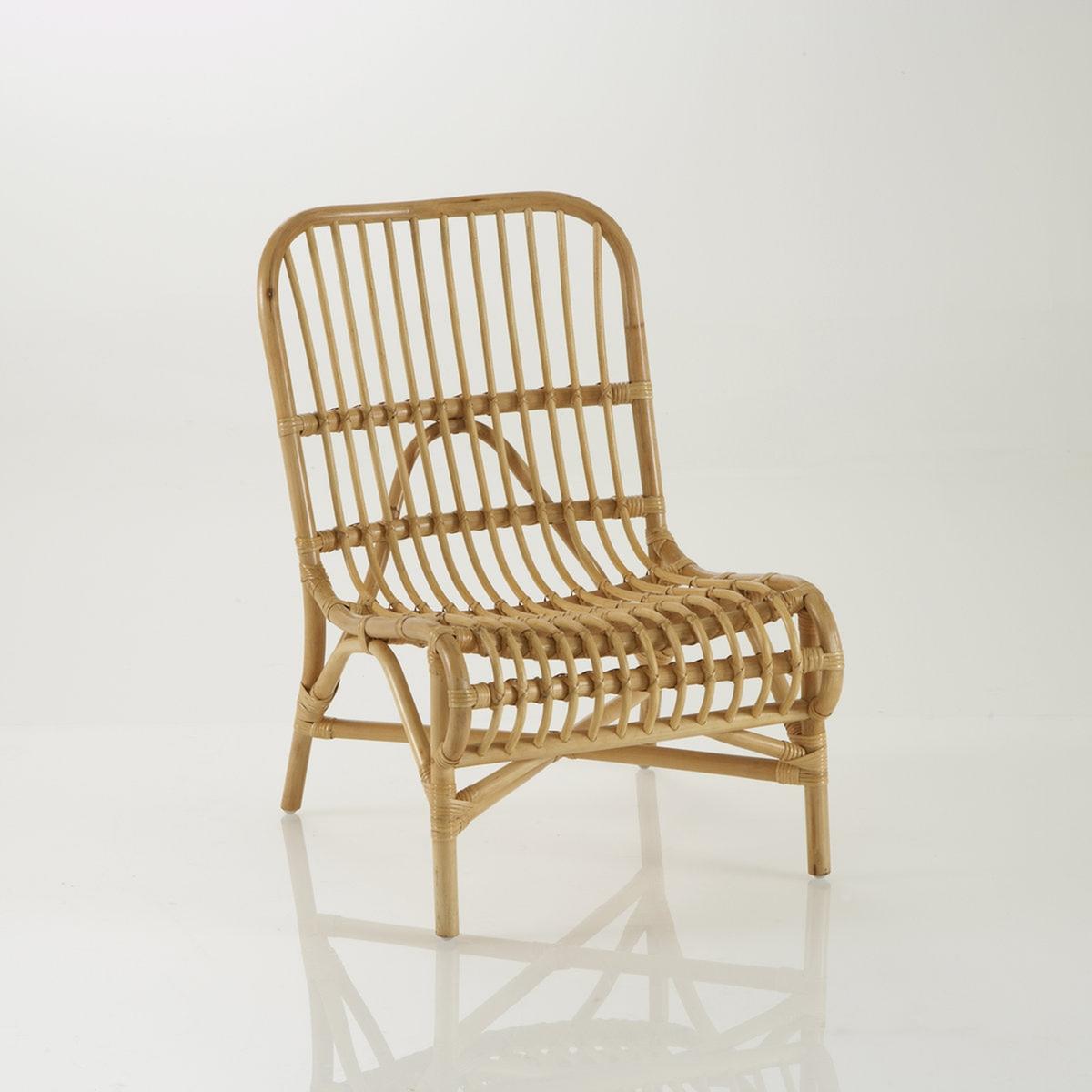Silla o sillón de apoyo en mimbre, Malu