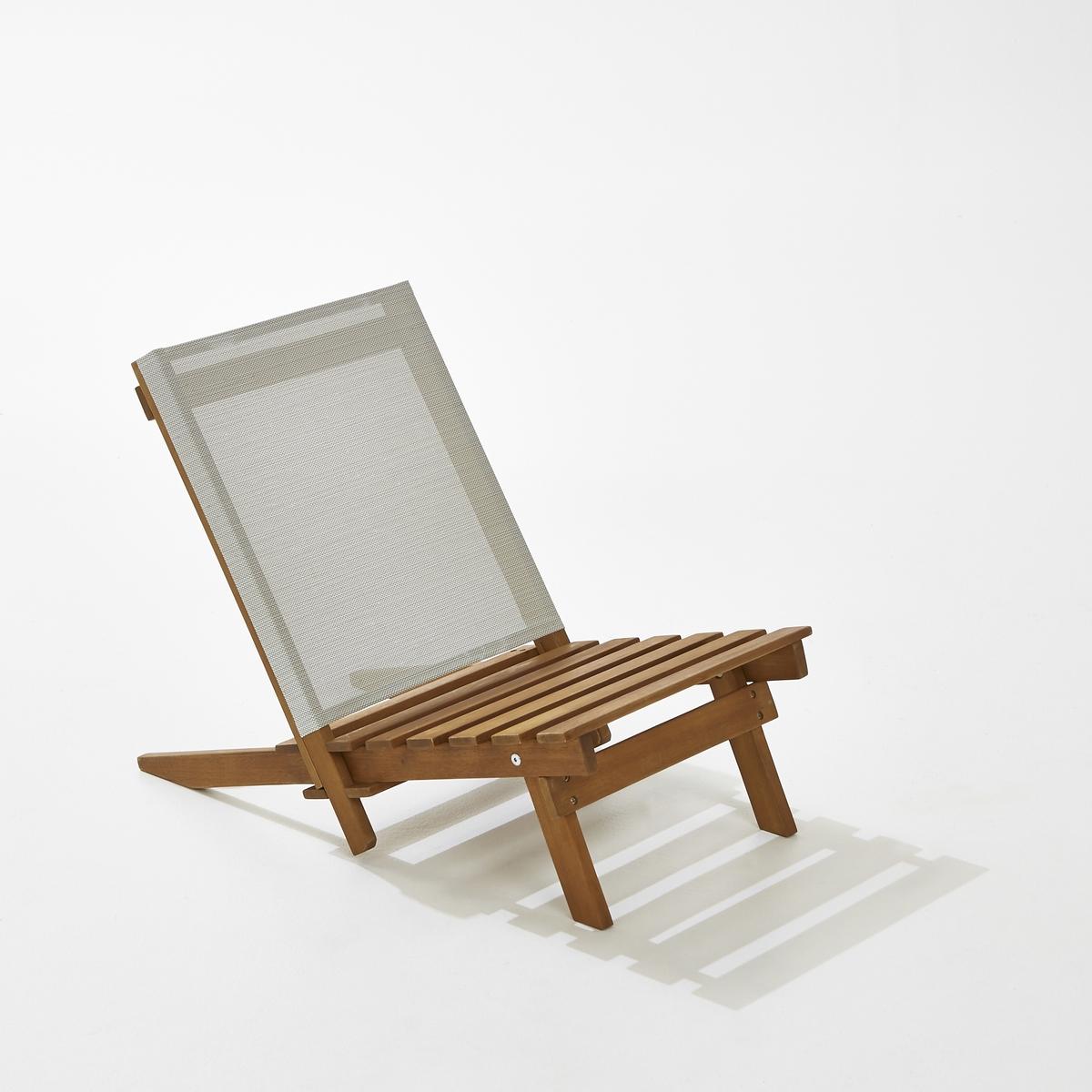 Стул низкий пляжный из акацииОписание стула  :               Низкий стул                 Из акации                 Отделка под тик              Спинка из полиэстеровых волокон с покрытием ПВХ                              Размер стула  :               40 x 68 x 53 см                        Доставка:               Низкий стул продается в собранном виде . Доставка на дом с возможностью подъёма на этаж.Внимание! Убедитесь, что товар возможно доставить на дом, учитывая его габариты (проходит в двери, по лестницам, в лифты).                              Размеры с упаковкой :               1 упаковкаД93 x В15 x Г43,5  см, 7кг<br><br>Цвет: серый жемчужный<br>Размер: единый размер