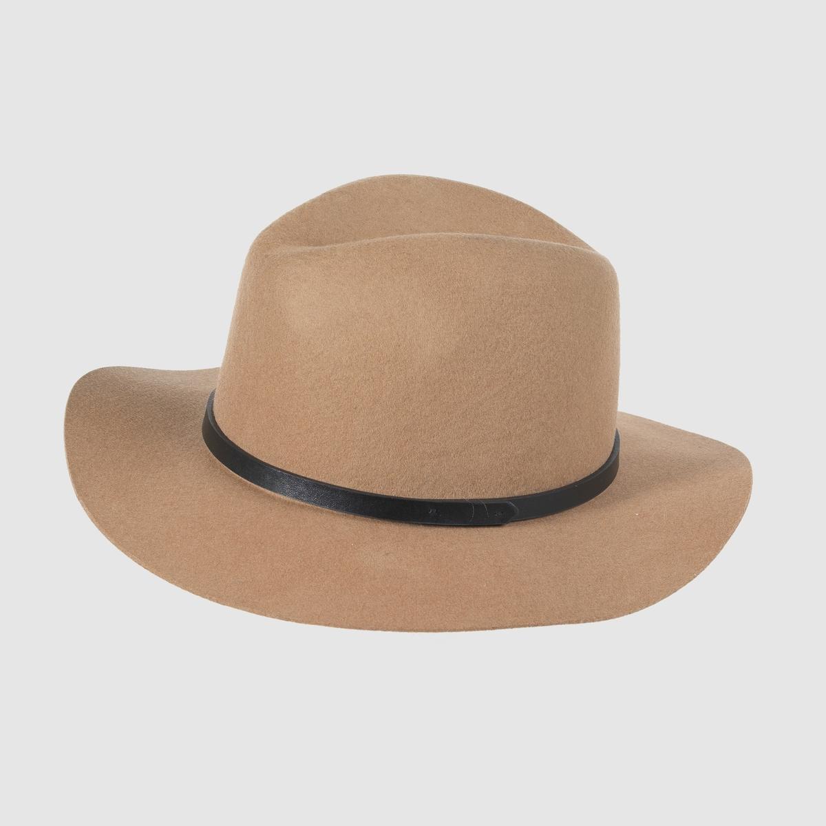 Шляпа из шерсти от La Redoute