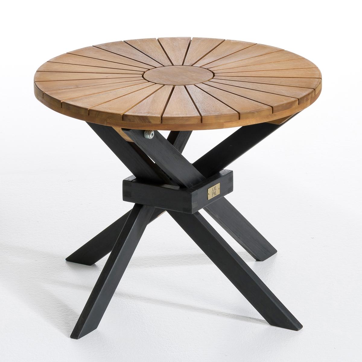 Стол низкий садовый, JaktaРазмеры:- ?50, Выс.40 см. Размеры и вес упаковки:- Шир.53 x Выс.7 x Гл.52 см, 5 кг. Существует также модель обеденного стола.<br><br>Цвет: коричнево-каштановый