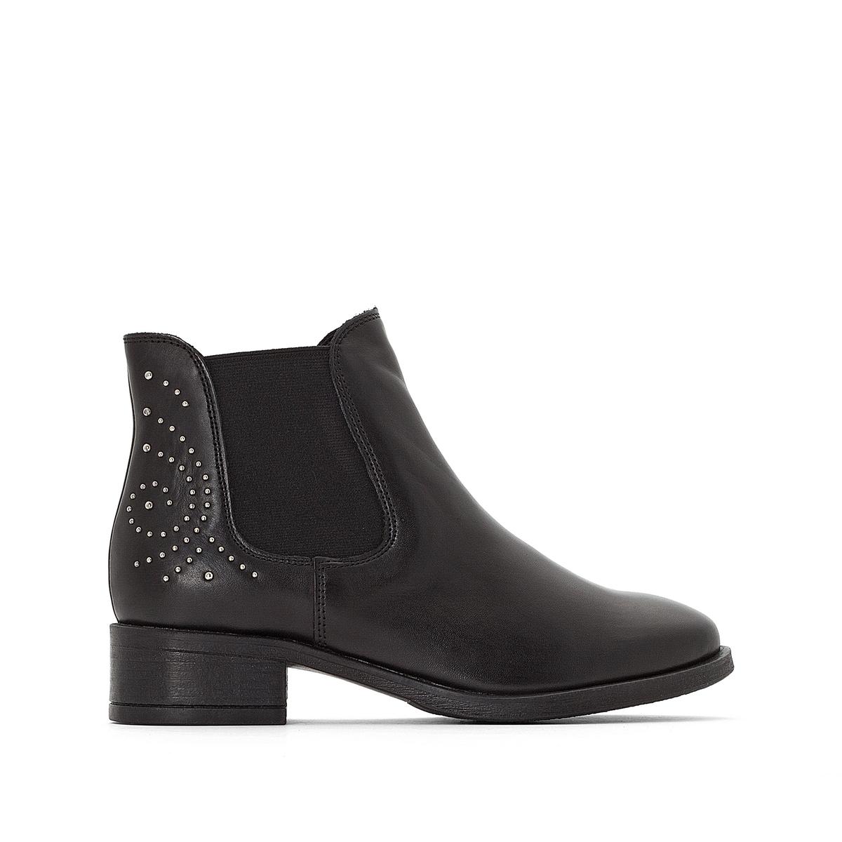 Ботинки кожаные Sasha sasha mannheim
