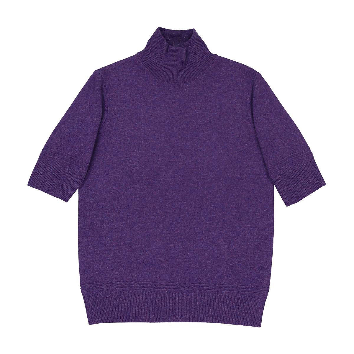 Пуловер с воротником, 100% кашемир пуловер свободный с воротником с отворотом plunkett