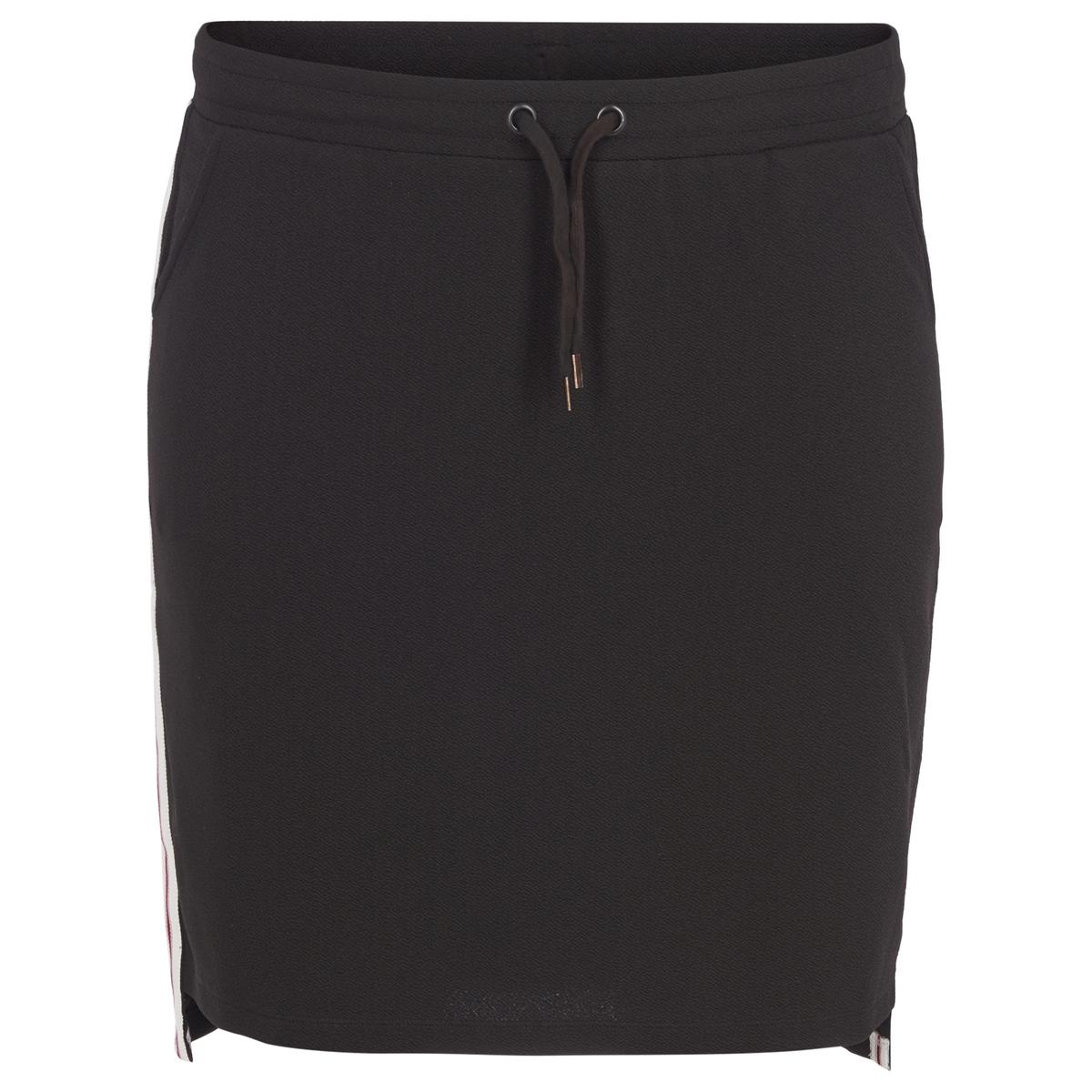 Юбка-миди однотонная прямая юбка zizzi