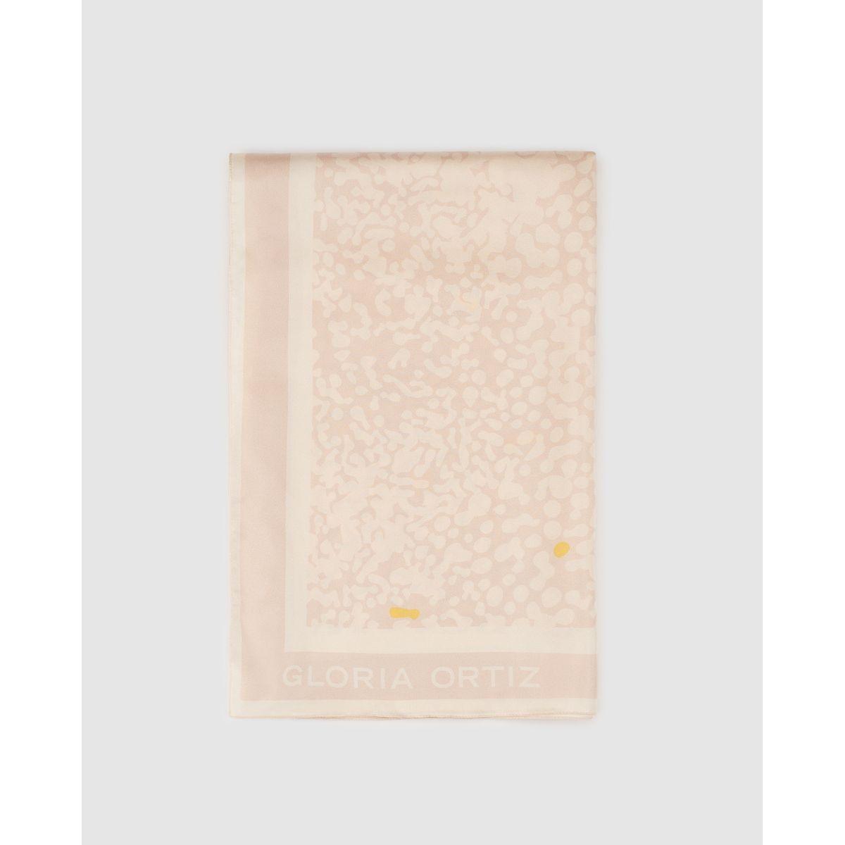 Foulard en soie  imprimé