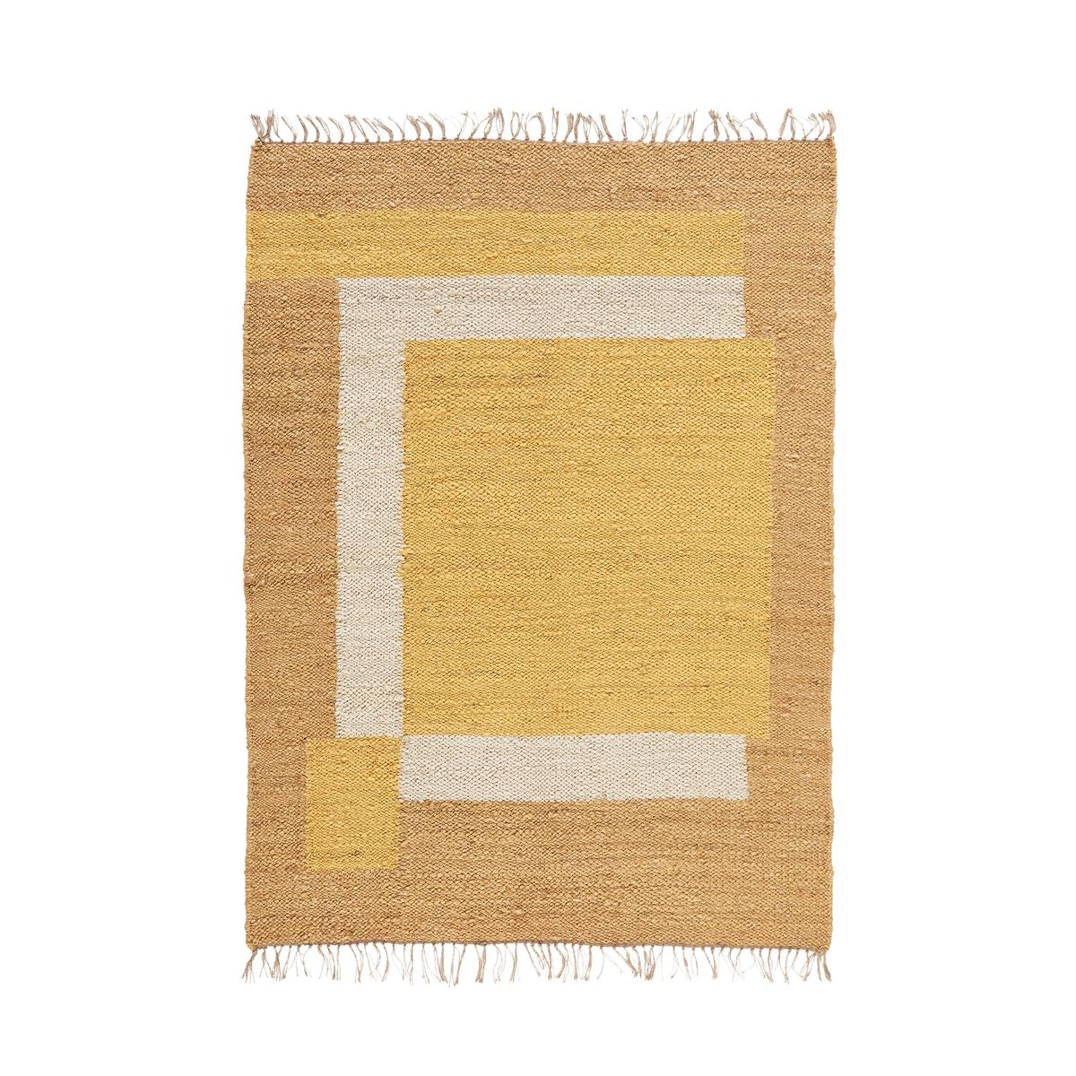 Ковер La Redoute Из джута Aftas 120 x 170 см желтый