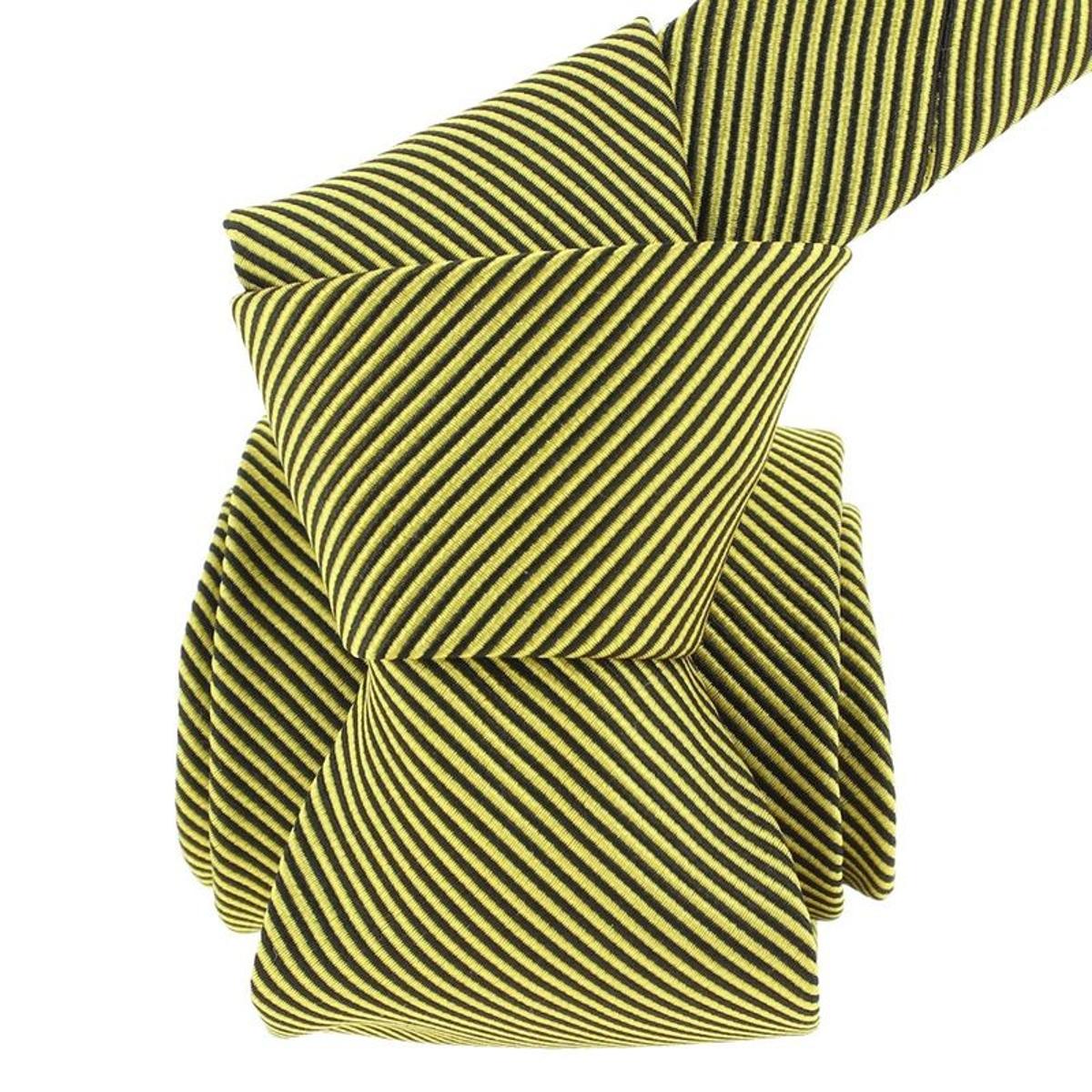 Cravate classique soie como