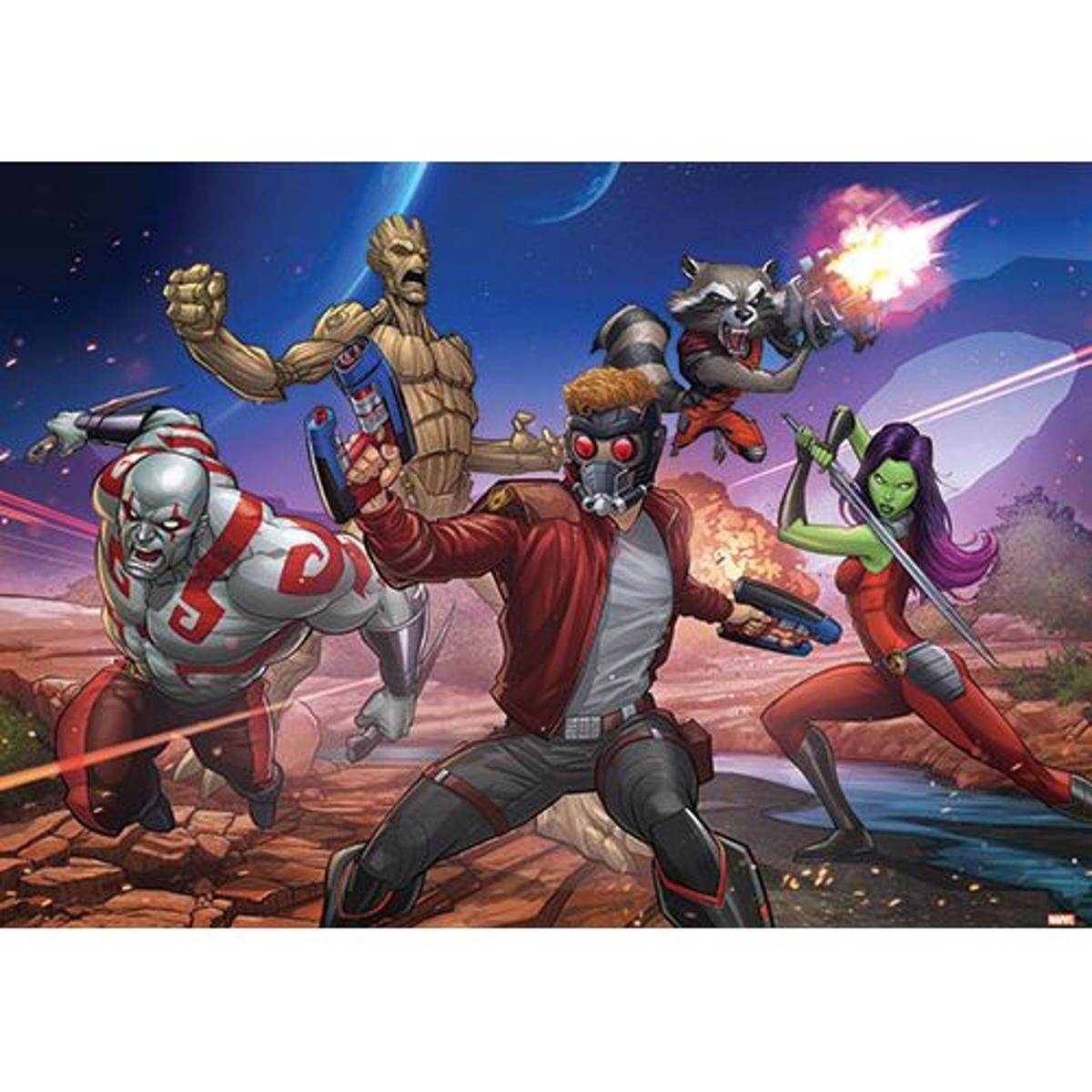 papier peint Marvel Les gardiens de la galaxie - 312 x 219 cm