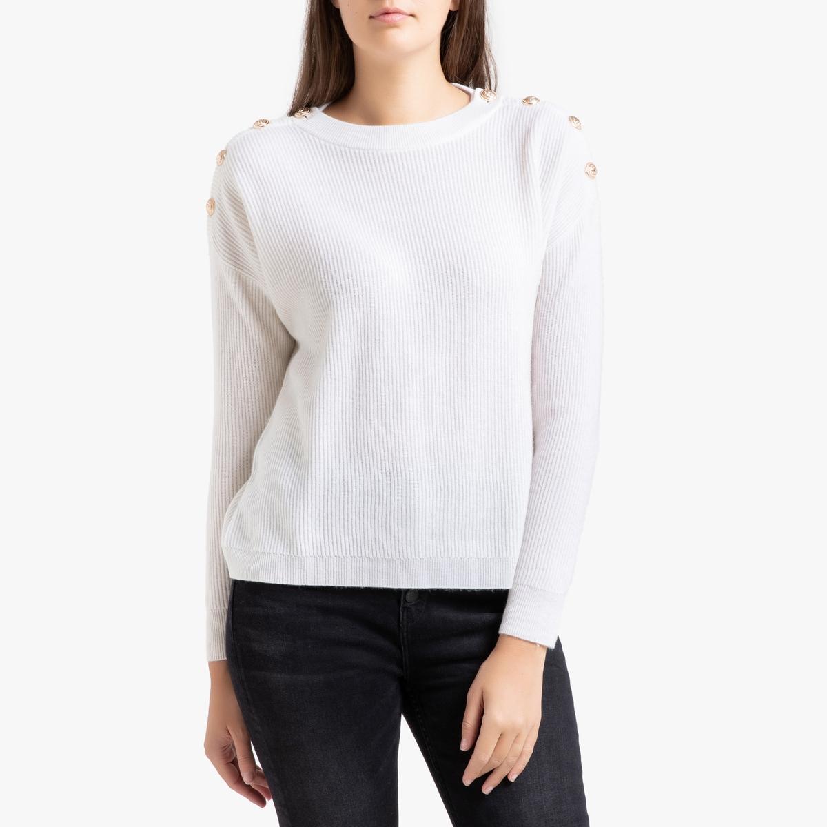 Пуловер La Redoute Из кашемира 3(L) бежевый ic men коричневый пуловер из кашемира