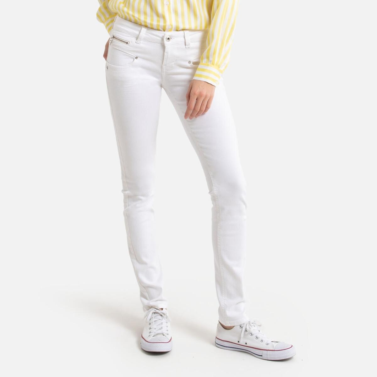 Джинсы La Redoute Узкие ALEXA NEW MAGIC COLOR XL белый