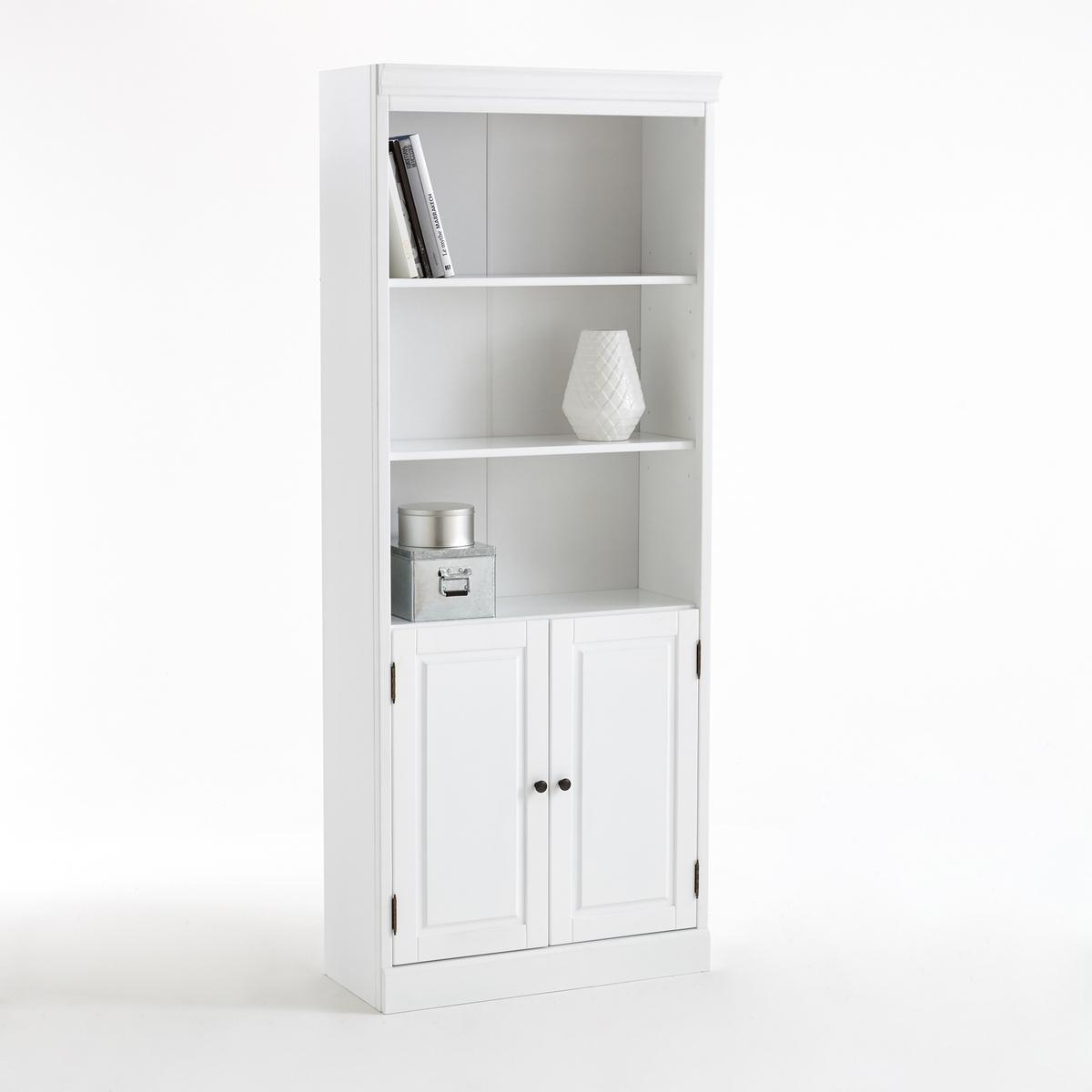 Модульный LaRedoute Книжный шкаф Authentic Style единый размер белый