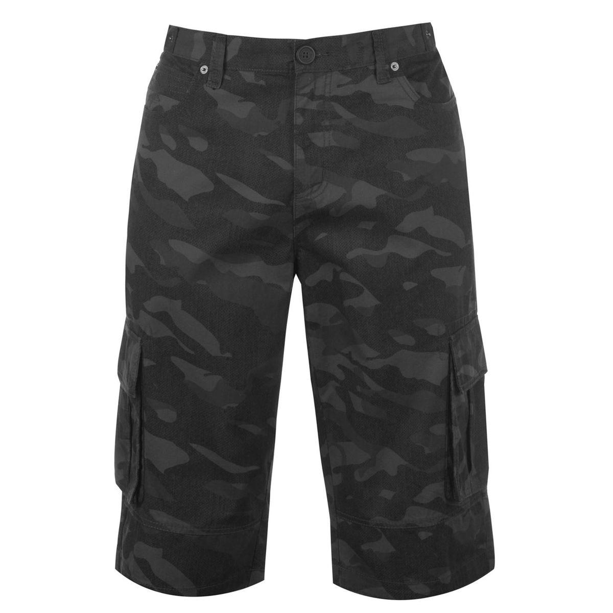 Pantalon court cargo à plusieurs poches