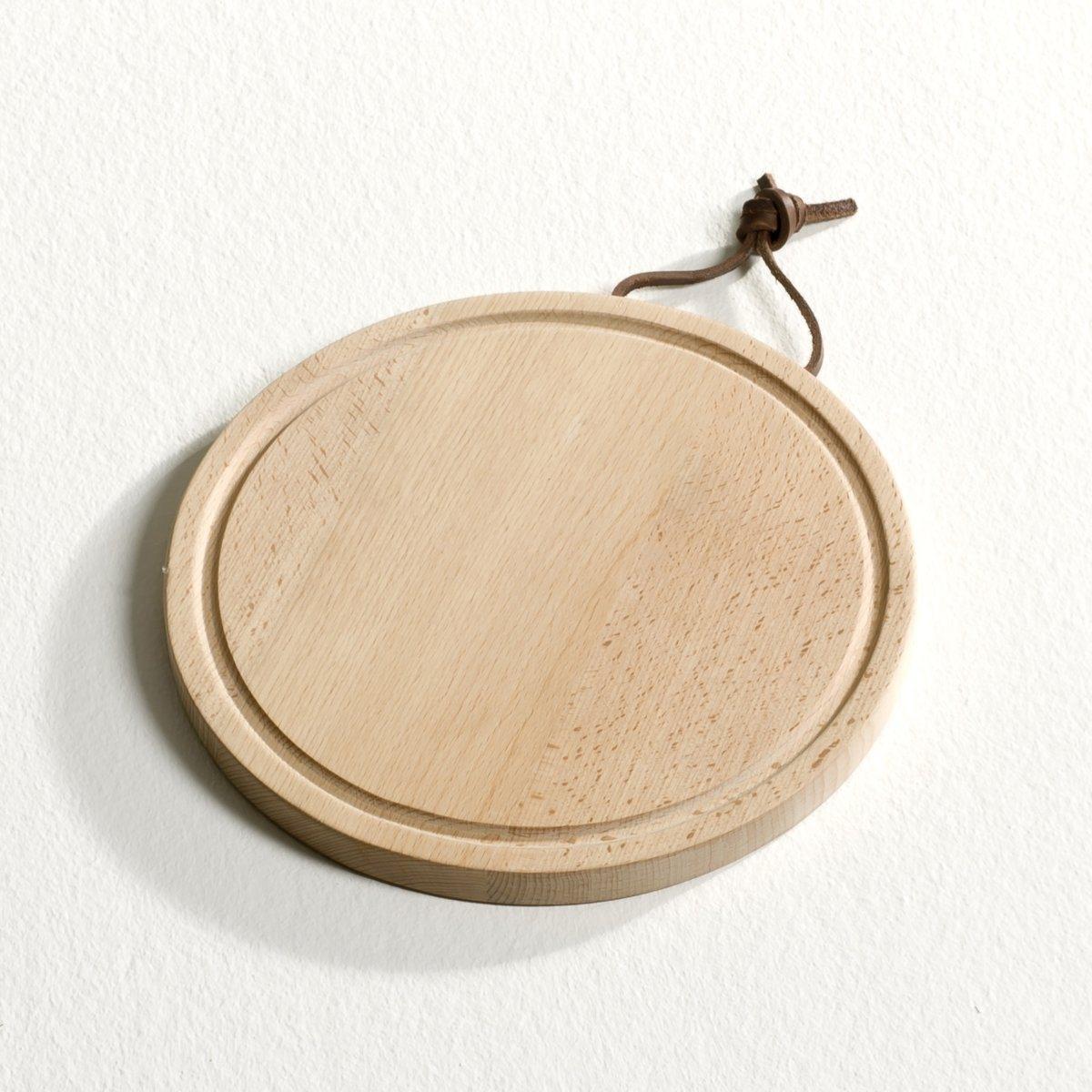 Доска разделочнаяРазделочная доска Slice из массива бука. Можно подвесить за кожаную петлю.<br><br>Цвет: светло-коричневый