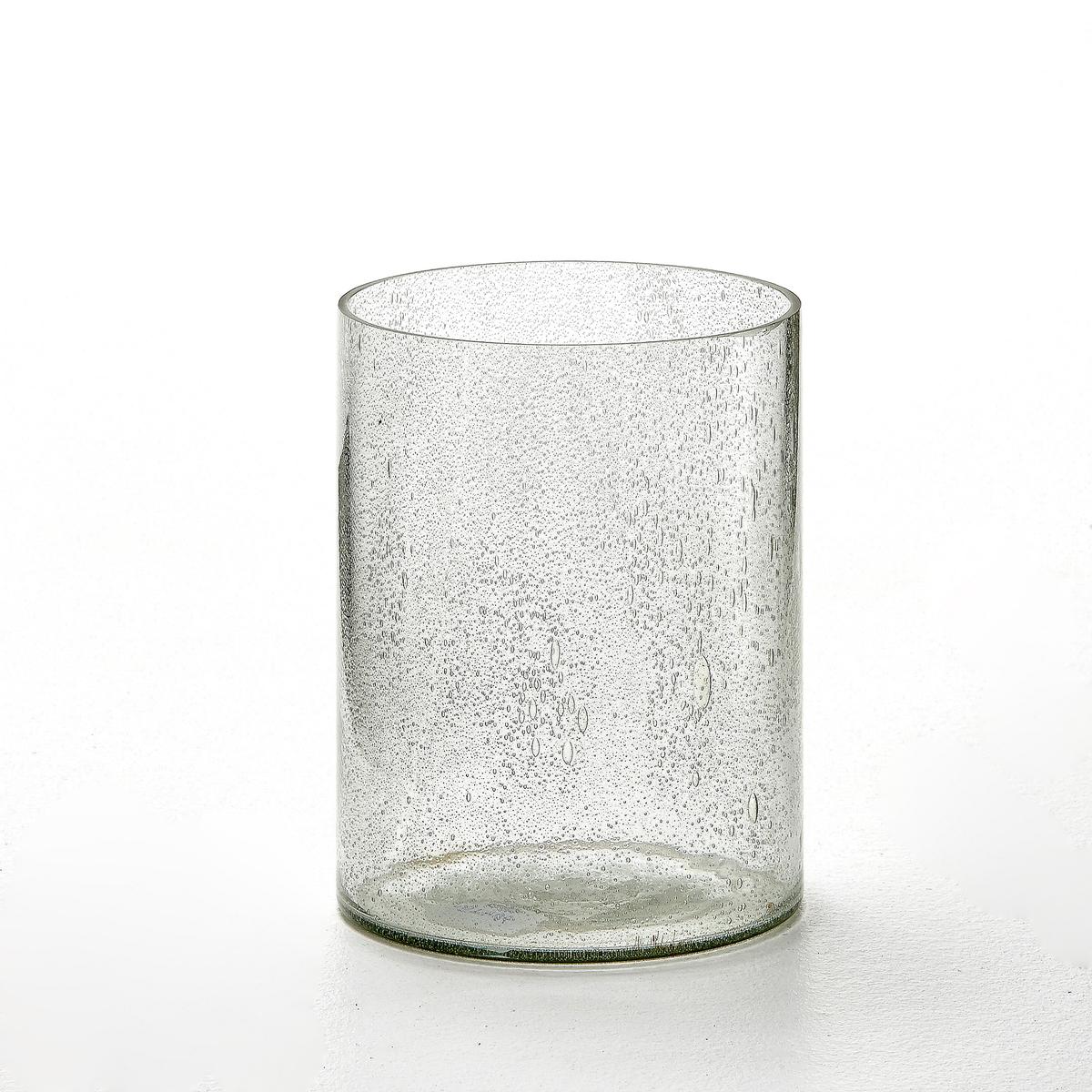 Ваза декоративная, 2 варианта отделки, EzioХарактеристики вазы Ezio :Ваза из прозрачного стекла или пузырчатого стекла.Откройте для себя всю коллекцию ваз и предметов декора на сайте laredoute.ru.Размеры вазы Ezio :Размеры. 1 вазы : Выс. 20 x Диаметр 15 см<br><br>Цвет: стекло,стеклянный прозрачный<br>Размер: единый размер