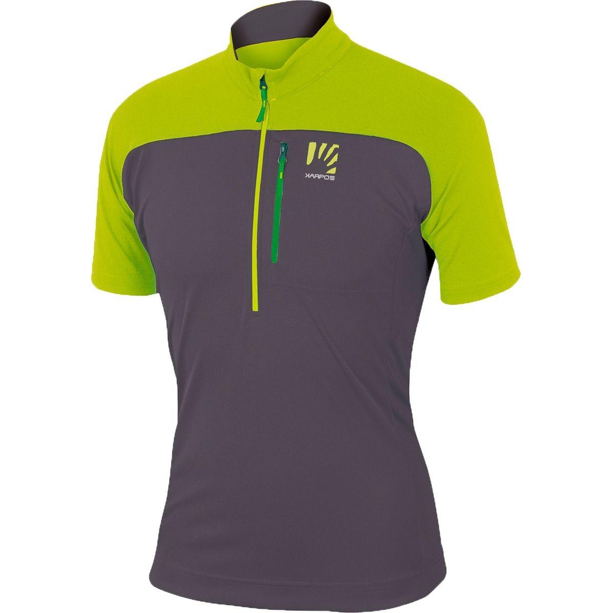 Roccia - T-shirt manches courtes Homme - gris/vert