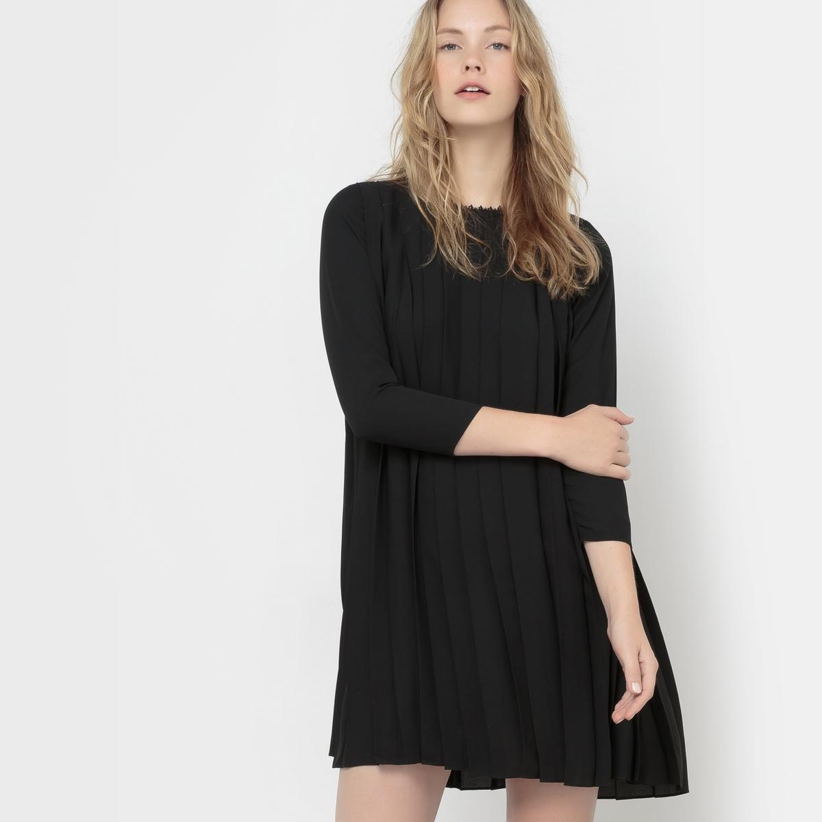 Платье плиссированное Roi платье плиссированное с рисунком
