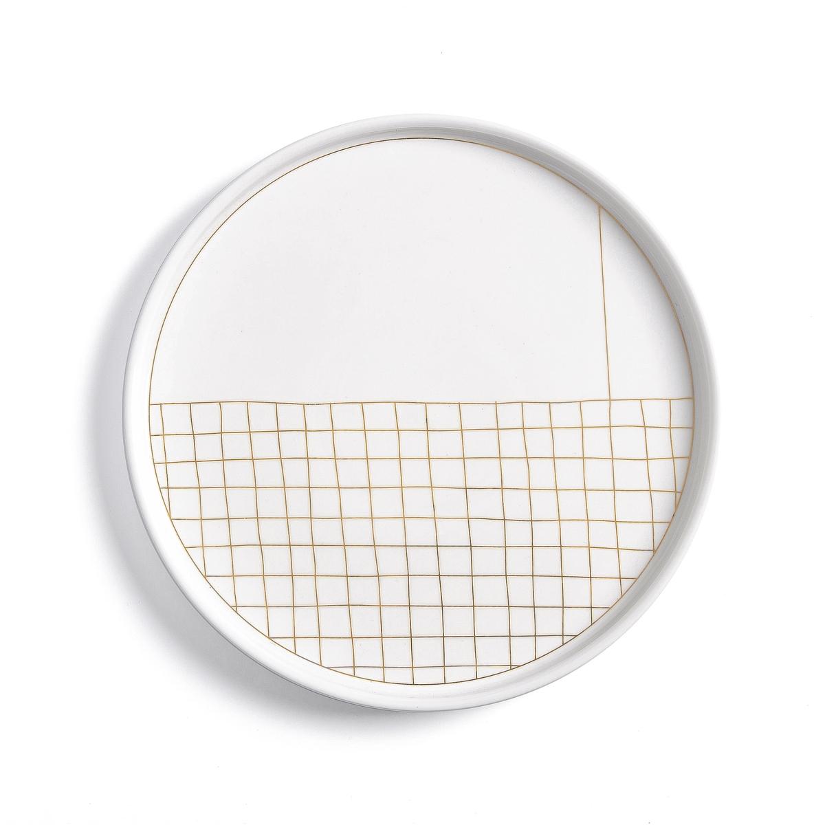 Комплект из десертных тарелок La Redoute ACAO единый размер другие комплект из 4 десертных тарелок sam baron